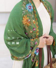 Stall  Morocco embroidery  http://item.rakuten.co.jp/onepi-c/w4528/ #elf #mori #bohemian