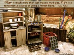 Creating spaces that engage children in dramatic play is vital