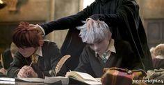 Jack and Hiccup - Hogwarts AU