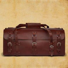 Saddle Back Leather Duffel Bag
