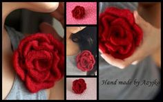 . Rose, Flowers, Plants, Handmade, Hand Made, Pink, Roses, Craft, Planters