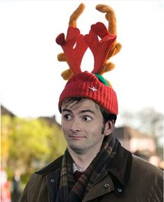 The Doctor approves of Wilf's Christmas spirit