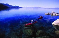 Kayaking ~ Lake Tahoe #travel #vacation