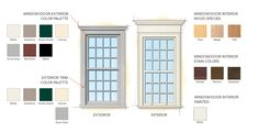 Georgian Federal Home Style Window Color Finishes - I need one 12 over 12 to complete my kitchen remodel Federal Architecture, Georgian Architecture, Architecture Details, Style At Home, Interior Design Tools, Georgian Homes, Georgian Townhouse, Victorian Farmhouse, American Houses