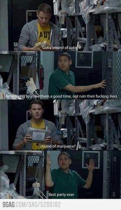 Love this movie 21 Jump Street! haha