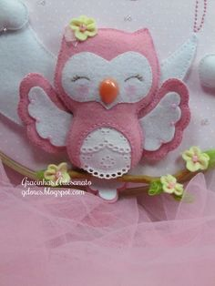 Jokes Craft: Owl felt