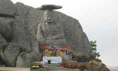 Palgongsan Park in Daegu, South Korea  Gatbawi the medicinal Budha.
