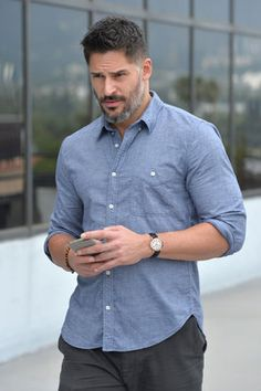 Joe Manganiello was spotted in Los Angeles sporting a timepiece from Tiffany's new CT60 collection on June 21.