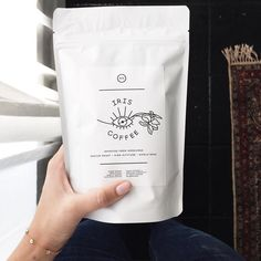Waking up with Iris Coffee! Sold exclusively at CTWF