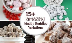 15+ Muddy Buddies Recipe Variations  Cool projects and recipes on website