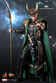 Hot Toys' Loki Figure from THE AVENGERS. Hot Toys images and info on their Movie Masterpiece Series Loki Sixth Scale Figure from The Avengers. Lego Marvel, Marvel Avengers Movies, Marvel Heroes, Marvel Dc, Loki Avengers, Avengers Images, Iron Man, Dc Comics, Die Rächer