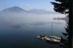 Colibita Lake in BN Fotografie Alexandru Uiuiu