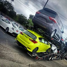We're falling in love with the in spring green! Red Mccombs, Scion, Spring Green, Toyota, Cars, Vehicles, Autos, Car, Car