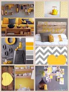 Ideas bedroom ideas yellow vintage for 2019 Room Color Schemes, Room Colors, Cozy Living Rooms, Home Living Room, Home Decor Trends, Diy Home Decor, Living Room Orange, Mid Century Modern Living Room, Bedroom Styles