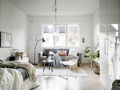 Compacte studio met Scandinavisch interieur en fijne accessoires - Roomed | roomed.nl