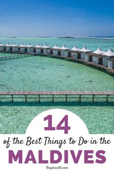 Maldives Vacation Guide | With luxury bungalows extending over turquoise waters reaching out from the white sandy beach, Maldives is a dream destination. These are the best things to do in the Maldives for everyone! | Blog by the Planet D #Maldives #MaldivesVacation #Honeymoon | honeymooning | honeymoon | baecation ideas | the maldives | Maldives beach | Maldives honeymoon | maldives resort | maldives photography | maldives island
