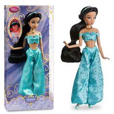 2014 dsn Store Classic Princess Jasmine Doll 12''