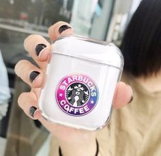 Starbucks AirPods Case Cover on Mercari Fone Apple, Airpods Apple, Cute Ipod Cases, Iphone Cases, Starbucks Case, Cute Headphones, Headphones Tattoo, Accessoires Iphone, Earphone Case