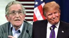Noam Chomsky Likens Donald Trump's Ascent To The 'Societal Breakdown' That Spawned Hitler. This crazy train is only getting started.