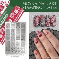 Nail Art Stamping Plates, Nail Stuff, Manicure, Nails, Nail Tips, Homeland, Class Ring, Nail Designs, Nail Polish