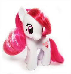 Cutest of the G4 My Little Ponies_ Plumsweet: always has something nice to say! Her friends come to her whenever they need cheering up!