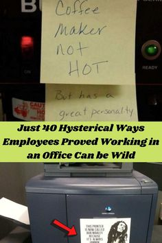 Working a 9-to-5 job might seems tedious to some people, but these quirky and witty office workers know exactly how to spruce up their day-to-day and have some fun in the office!