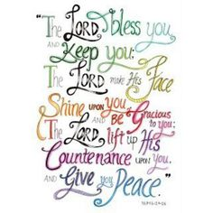 """""""The Lord #bless you & keep you. My favorite prayer over my favorite youth since 2007 #rethinkchurch @umrethinkchurch"""""""
