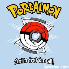 Portalmon! Portal and Pokemon mashup!