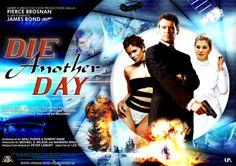 'Die Another Day' - Poster 4 James Bond Movie Posters, Best Movie Posters, James Bond Movies, Great Films, Good Movies, David Arnold, Toby Stephens, Rosamund Pike, Pierce Brosnan