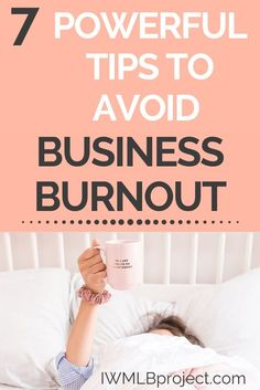 When you start a business it is tempting to believe in the hype of the 'hustle'. Without proper self-care however, you will not give your business you best self. And worse, you could end up burning out from the stress. Here are 7 business tips to avoid bu Business Advice, Business Planning, Business Women, Online Business, Business Website, Business Journal, Successful Business, Business Motivation, Business Opportunities