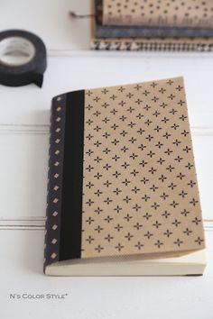 ★セリア100円おり紙とマスキングテープで簡単ブックカバー | インテリアと暮らしのヒント