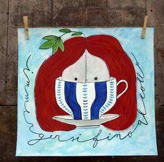 -immergersi fino al collo- Paper Boat Art Prints