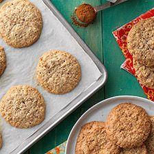 crunchy cinnamon-oat drops | king arthur flour