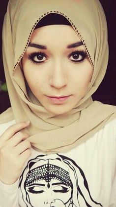 Hijab NabilaBee young beauty with beautiful eyes and lips