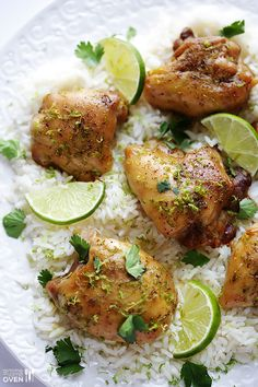 Easy Lime Chicken... perfect weeknight dinner with minimal prep, and lots of great flavor!