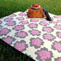 Organic Cotton Picnic Blanket