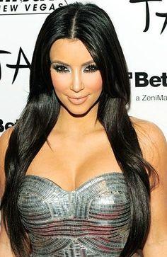 Idées Coiffures Pour Femme  2017 / 2018   Kim Kardashian Coiffures