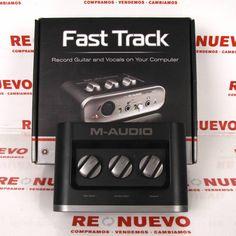 FAST TRACK M-AUDIO#audio# de segunda mano#fast track