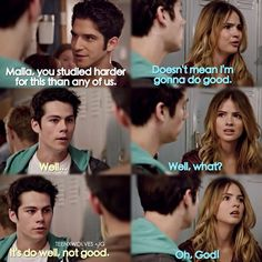 "S4 Ep7 ""Weaponized"" - Malia, Stiles and Scott"