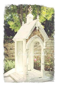 vintage garden house by Bob Ellis