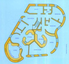 Cob House Design | Floor Plan
