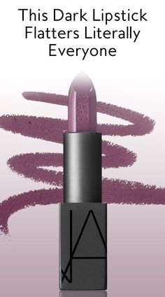 Found: The Dark Lipstick That Looks Good on Literally Everyone from InStyle.com