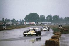 (24) John Watson - Brabham BT30 Cosworth FVA - John Watson - (9) Tim Schenken - Brabham BT36 Cosworth FVA - Rondel Racing - VI Flugplatzrennen Tulln-Langenlebarn 1971 - I Jochen Rindt Gedächtnisrennen - European F2 Championship, Round 8