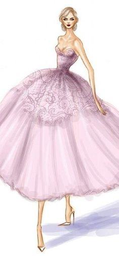 Fashion Illustration by Shamekh Bluwi