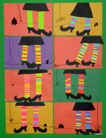 Tippytoe Crafts: Witch Legs Craft