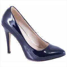 Pantofi navy cu toc 51760N - Reducere 60% - Zibra Pumps, Heels, Navy, Fashion, Heel, Hale Navy, Moda, Fashion Styles, Pumps Heels