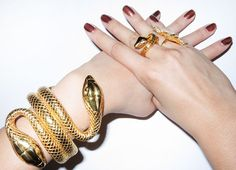 Tom Ford Snake Cuff & Ring.  I want the cuff!