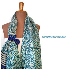 Stola Gioiello by Gianmarco Russo - limited edition - made in Italy - handmade -