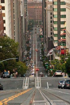 Steep Hill San Francisco.I would like to visit this place one day.Please check out my website thanks. www.photopix.co.nz