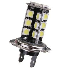 H7 CANBUS Error Free 27 SMD 5050 LED Bright White Fog Head Light  Worldwide delivery. Original best quality product for 70% of it's real price. Buying this product is extra profitable, because we have good production source. 1 day products dispatch from warehouse. Fast & reliable...